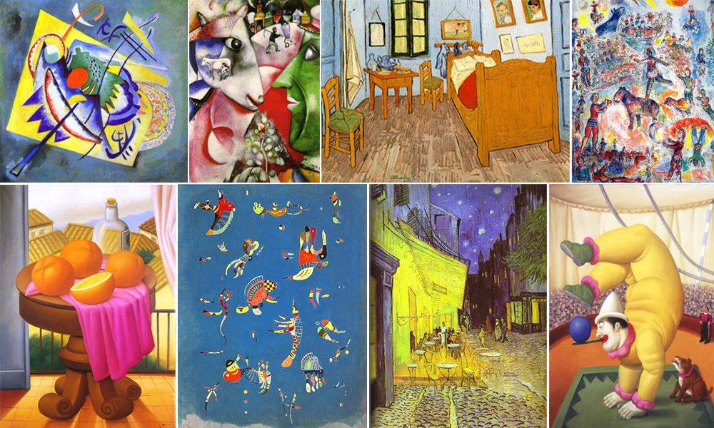 collage arte contemporanea per sito